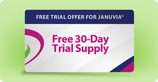 Free trial offer for JANUVIA® (sitagliptin) tablets